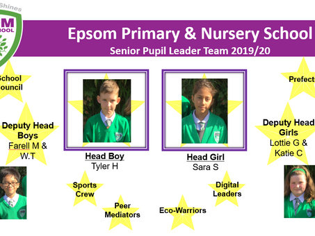 Meet our new Pupil Leaders!
