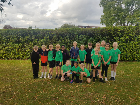 Running Club attend their first event of the year