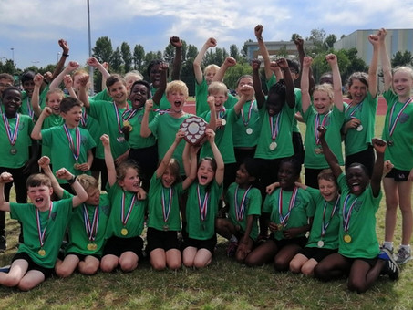 Huge success for EPS at District Sports