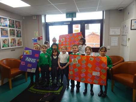 EPS pupils send cards to key workers