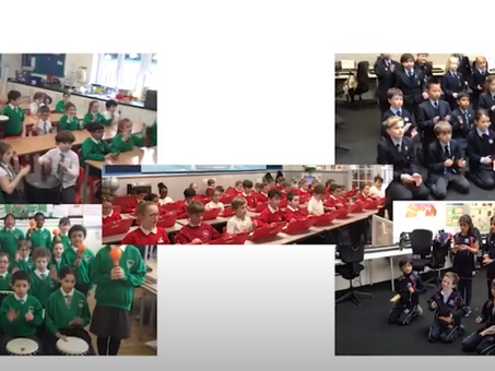 Year 4 join City of London Freemen's School for another amazing music production!