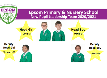 Meet our new Pupil Leaders 2020/2021
