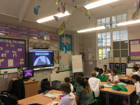 Year 6 Houses of Parliament workshop