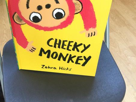 Author, Zehra Hicks visited Reception Classes