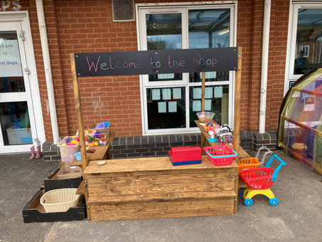 Nursery enjoy new outdoor resources!