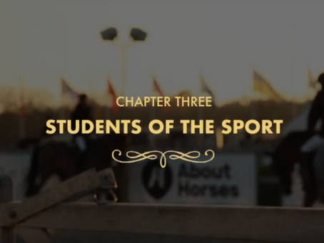 "Sorensen Stables Releases Chapter Three of ""Bridging the Transatlantic Gap"" 5-Part Video Series"