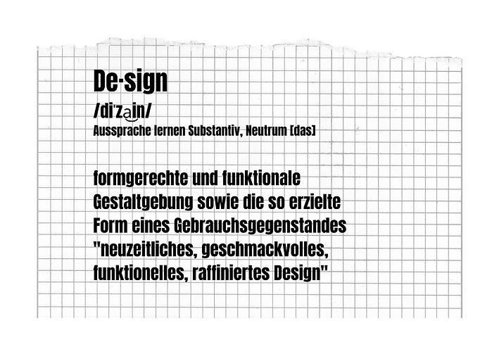 De·sign _diˈza͜in_ Aussprache lernen Sub