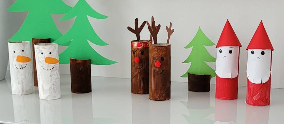 #basteltipp Nr. 2 diese Woche: Ein Weihnachtswald 🌲⛄🦌
