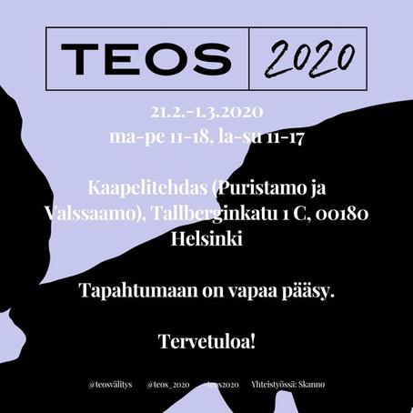 TEOS 2020 – Vuotuinen kuvanveistäjien ja taidegraafikoiden teosvälitys järjestetään taas 21.2.-1.3.