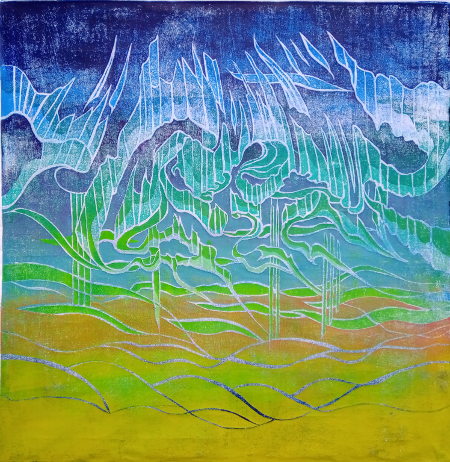 Aurora borealis / Tulet