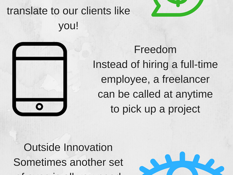 Small businesses and freelancers!