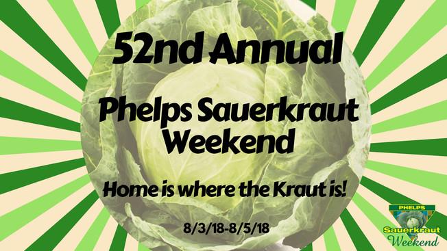 Phelps Sauerkraut Weekend