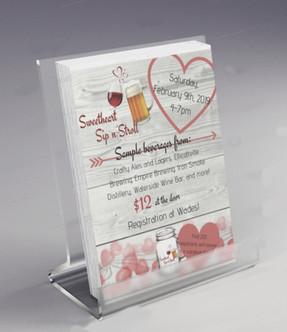 Sweetheart Sip N Stroll