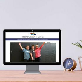 Phelps Community Center Website