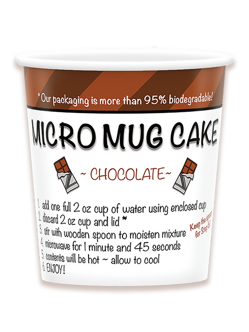 Chocolate Micro Mug Cake (Pack of 6)