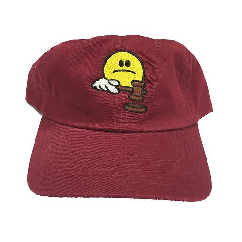 Sad Judge Hat Maroon