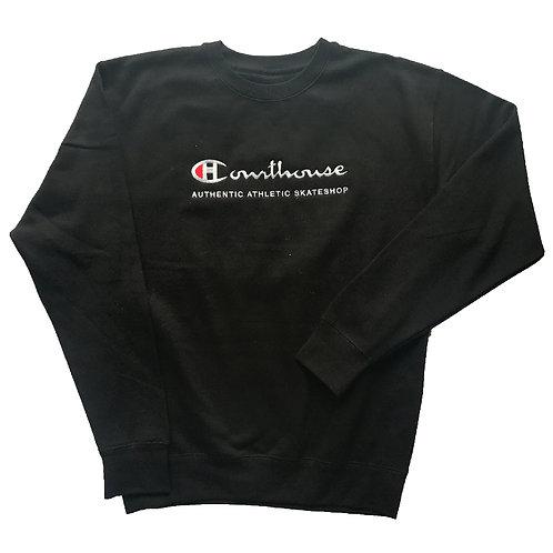 Authentic Athletic Black Crewneck