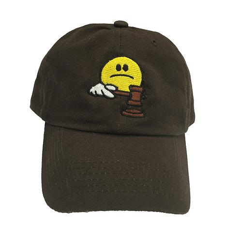 Sad Judge Hat Brown