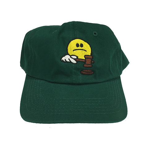Sad Judge Hat Green