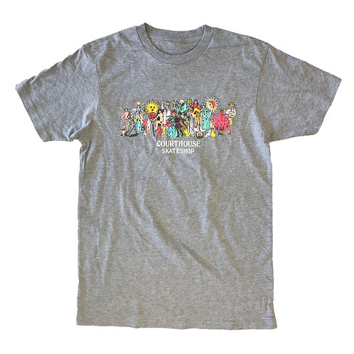 Be Here Now Grey Tee