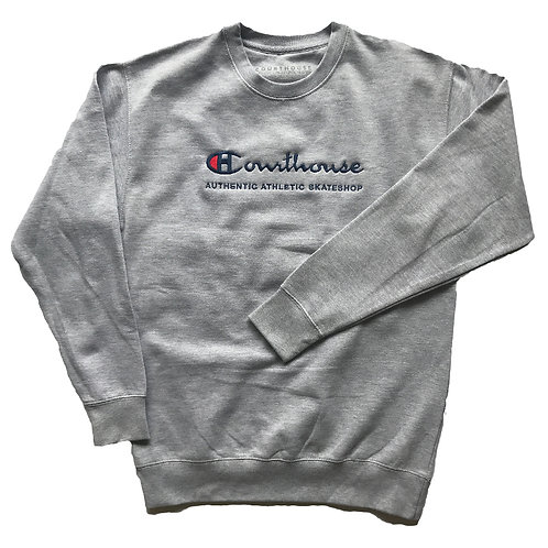 Authentic Athletic Grey Crewneck