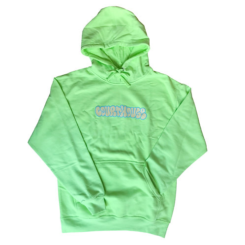 Borater Hoodie Safety Green