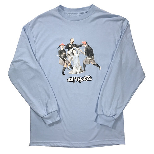 Torture Long Sleeve Pale Blue