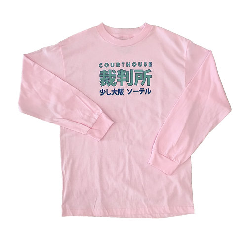 Lil Osaka Long Sleeve on Pink