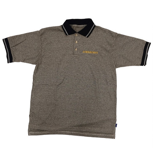 Houndstooth Polo