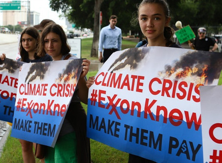 ExxonMobil's Climate Misinformation May Finally Come with a Cost