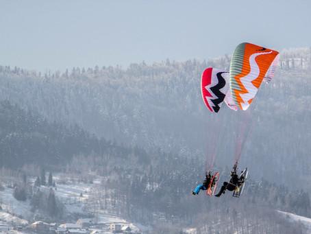 Początek sezonu sportowego na górze Żar