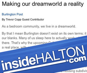 BURLINGTON POST: Making our dreamworld a reality