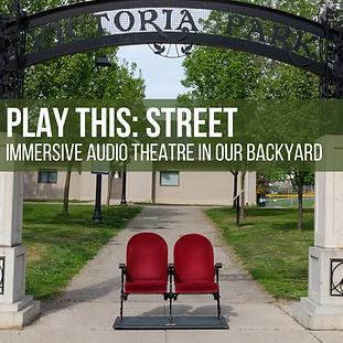 PLAY this STREET audio theatre in unexpe