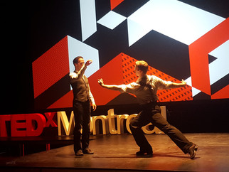 'First Dance' rocks Tedx Montreal