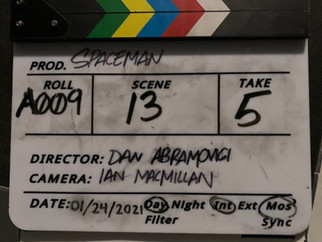 Short film 'Spaceman' - Inspired by 'Searching for Marceau' - to be released in summer 2021