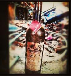 שריפת מחסן היין