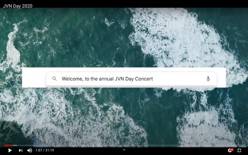JVN Day 2020: The Concert