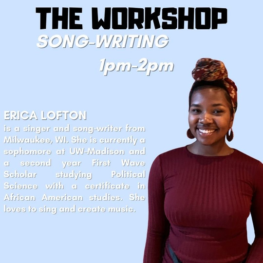 The Workshop: Song-Writing with Erican Lofton