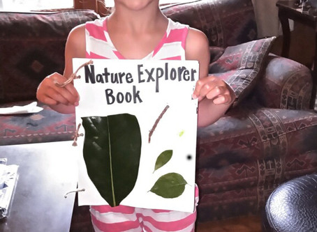 Inspiration from our Virtual Tyke Hike Campers!