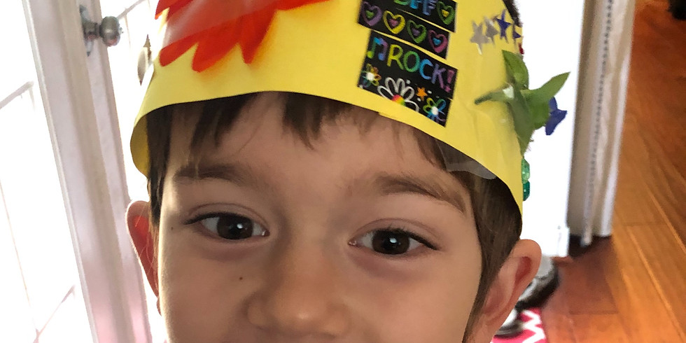 Celebrate Earth Day and make Nature Crowns with Tyke Hike!