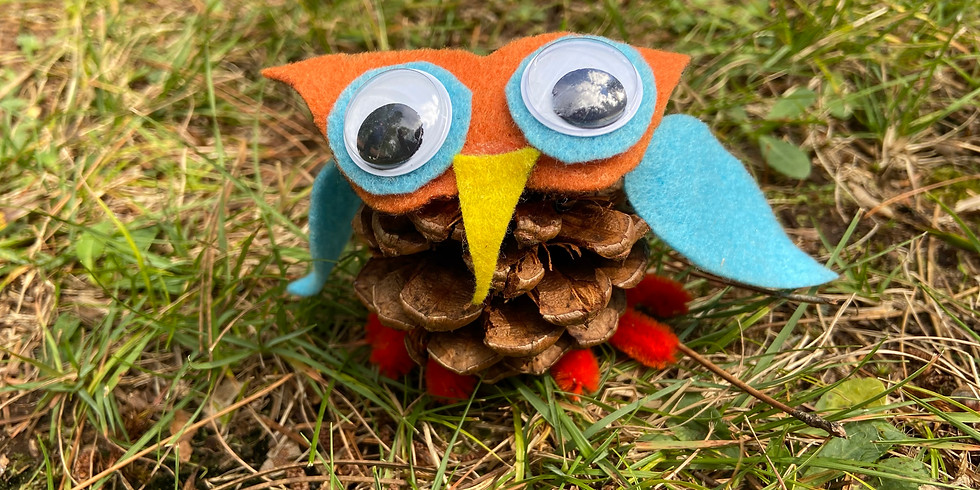 Give a hoot! Fun with Pinecone Owls