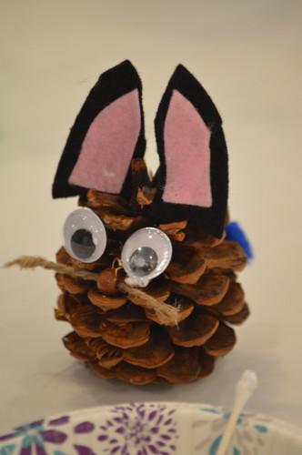 Birthday Bunny craft