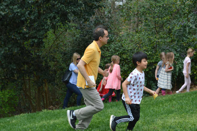 Fun and active Tyke Hike