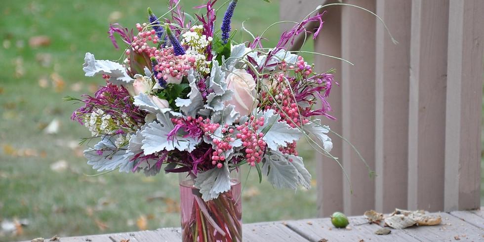 Spring Blooms Flower Arranging Class