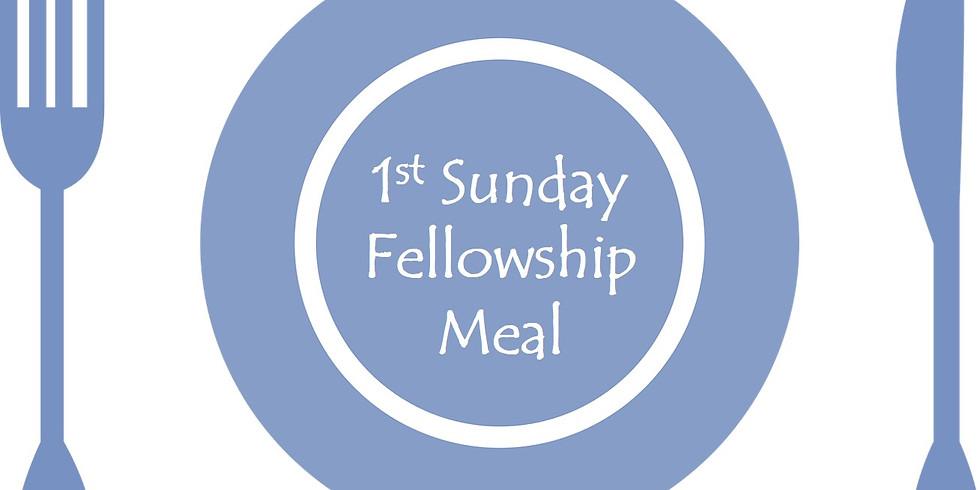 1st Sunday Fellowship Meal