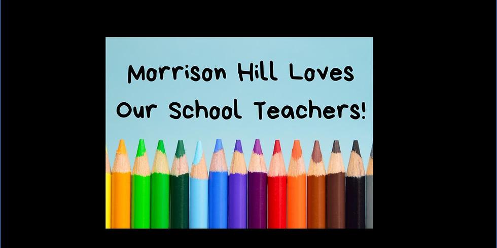 Let's Bless Our School Teachers!
