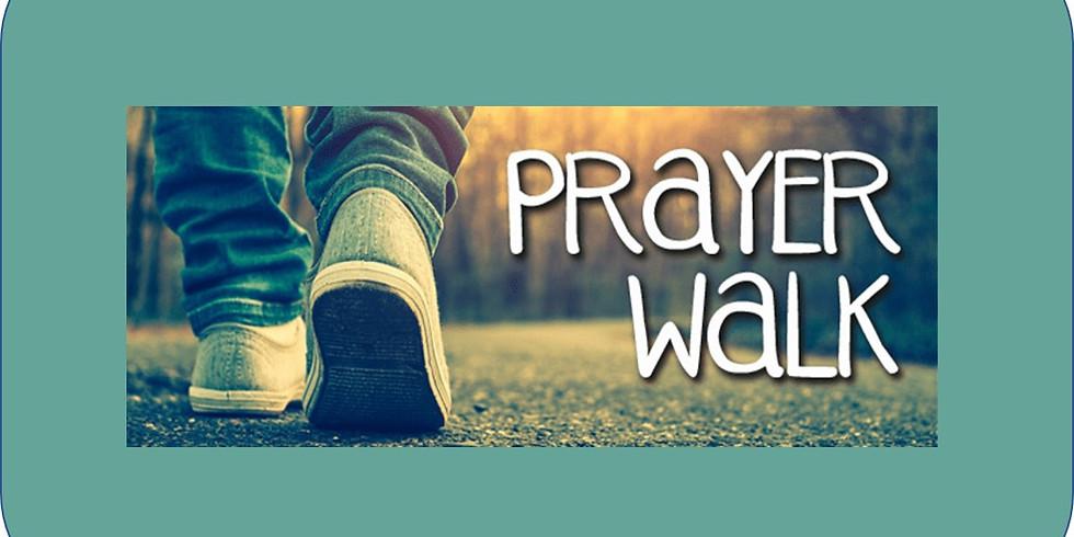 Teen Prayer Walk