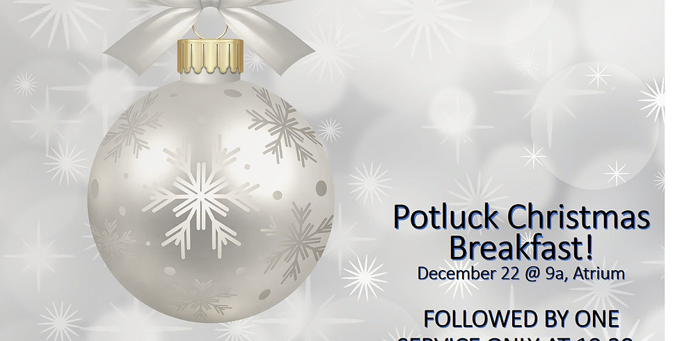 Potluck Christmas Breakfast
