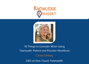 How is Telehealth Used in Healthcare