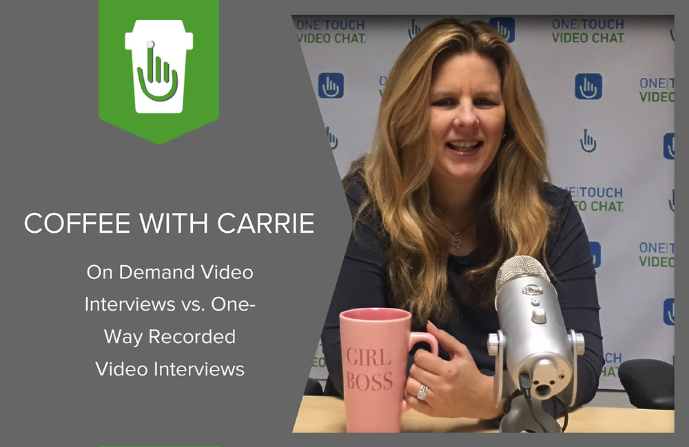 On Demand Video Interviews vs. One-way Recorded Video Interviews